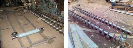 Screw Conveyors, Twin Screw Conveyors, Screw Feeders, Paddle Conveyors, Mixing Conveyors, Right / Left Handed Screw Conveyor, Mumbai, India